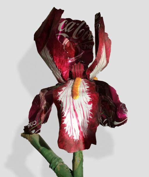 Iris sculpture
